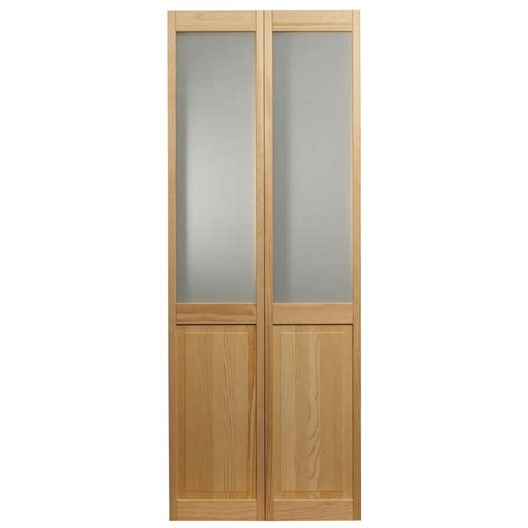 home depot glass interior doors pinecroft 36 in x 80 in frosted glass raised panel