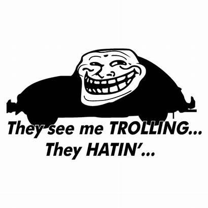 They Hatin Sticker Jdm Trolling Survolez Agrandir