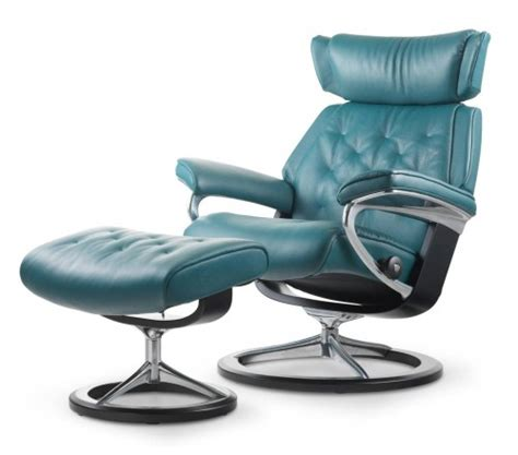 Stressless Recliner Chairs Reviews by Stressless Skyline Signature Recliner Amp Ottoman From