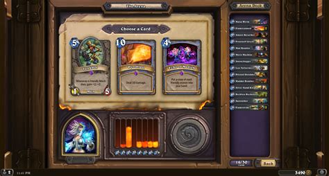 Hearthstone Mage Decks Hearthpwn by Mage Epic The Arena Hearthstone Modes