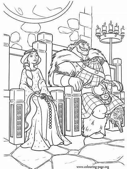 Coloring King Brave Queens Kings Throne Queen