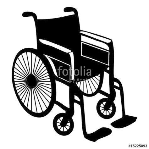largeur d une chaise roulante quot fauteuil roulant wheelchair quot fichier vectoriel libre de