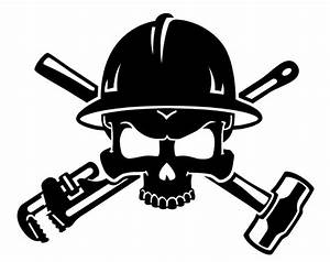 Skull clipart hardhat - Pencil and in color skull clipart ...