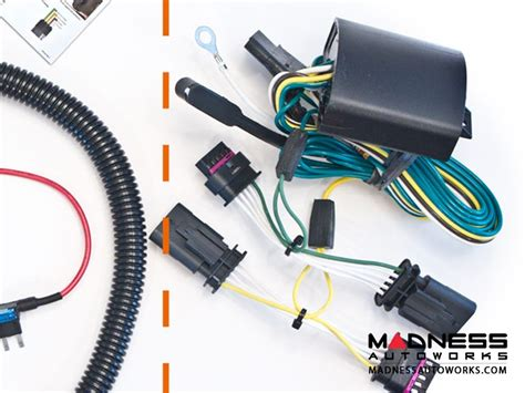 Auto Trailer Wiring Kit by Jeep Jeep Renegade Enhanced Trailer Wiring Kit Madness