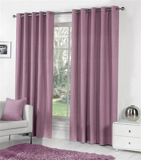 Purple Bedroom Rugs by Sorbonne Eyelet Curtains In Heather Free Uk Delivery