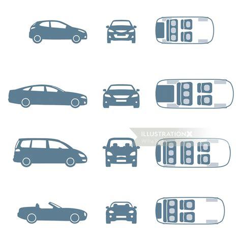 car symbols illustration  willie ryan
