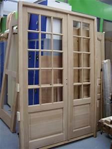 porte d 39interieur a 2 vantaux et petits bois blog de With porte de garage et porte interieur 2 battants