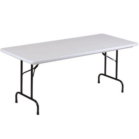 correll folding table 30 quot x 96 quot ter resistant plastic