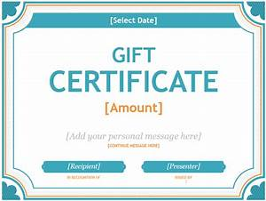 free gift certificate template word mac gift ftempo With gift certificate template for mac