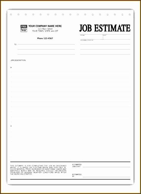 construction work estimate template sampletemplatess
