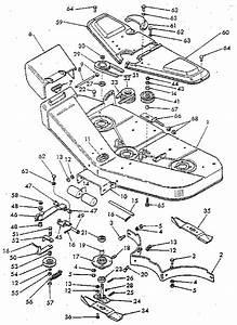 Ford Model 9607442 Mower Deck Genuine Parts