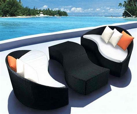 salon d exterieur design meuble exterieur design pas cher