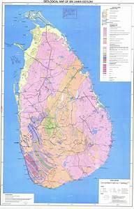 Geological Map Of Sri-lanka  - Esdac