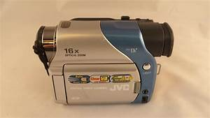 Jvc Gr  Minidv Digital Video Camcorder  Parts Or Repair  46838010729
