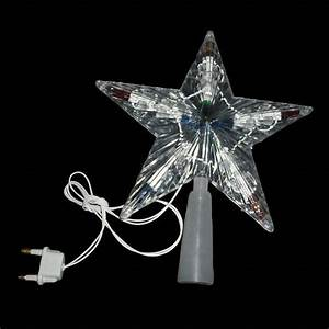 High end indoor outdoor christmas tree topper star light for Outdoor star light for christmas tree
