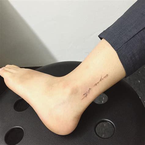ankle tattoo  tattoos piercings tattoos ankel