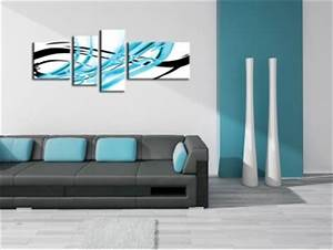 Tableau Deco Design : tableau deco decoration murale design et moderne hexoa ~ Melissatoandfro.com Idées de Décoration