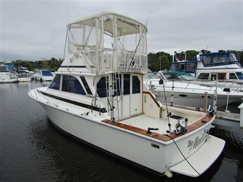 35 Foot Bertram Boats For Sale by 1976 Bertram 35 Convertible Power Boat For Sale Www