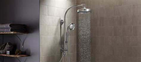 shower columns showering bathroom kohler