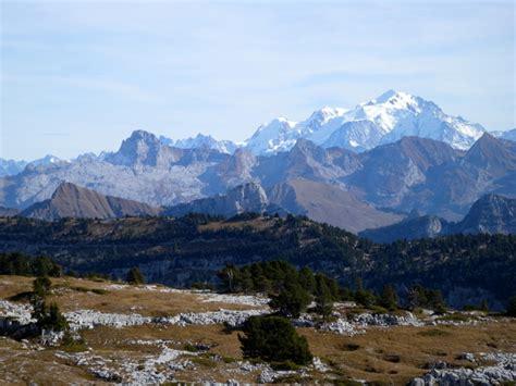 photo du mont blanc vu 224 distance moments