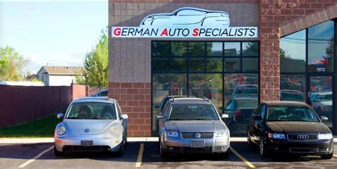 volkswagen repair shops   west jordan utah