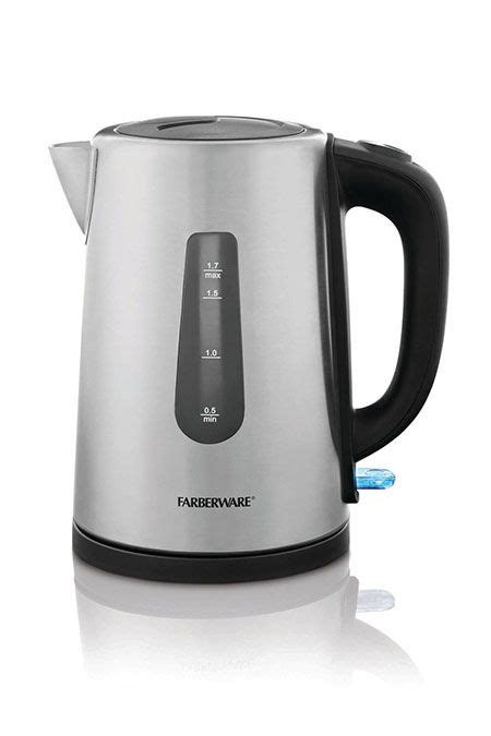 electric tea kettles farberware kettle
