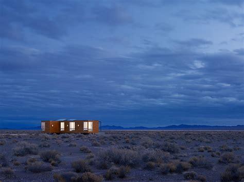 A Prefab Retreat In The Nevada Desert