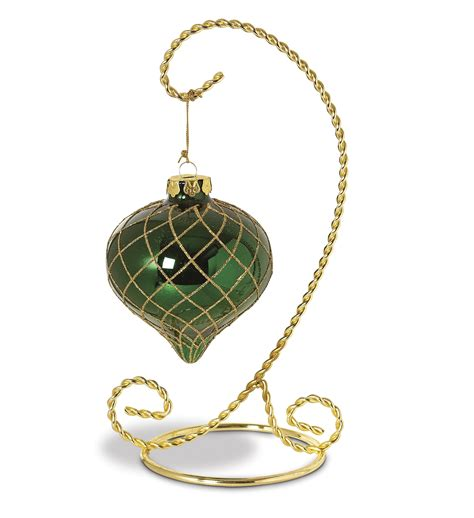metal ornament stand at hooked on hallmark ornaments