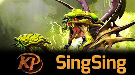 dota 2 venomancer singsing ranked gameplay youtube