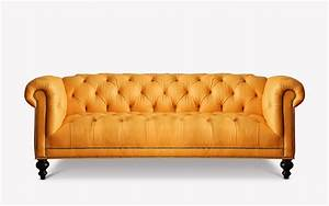 The wright tufted seat chesterfield of iron oak for Khloe tufted sectional sofa
