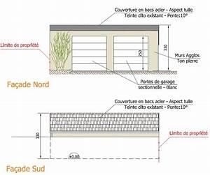realisation d39un garage realisation des plans de plan b With exemple de plan de garage