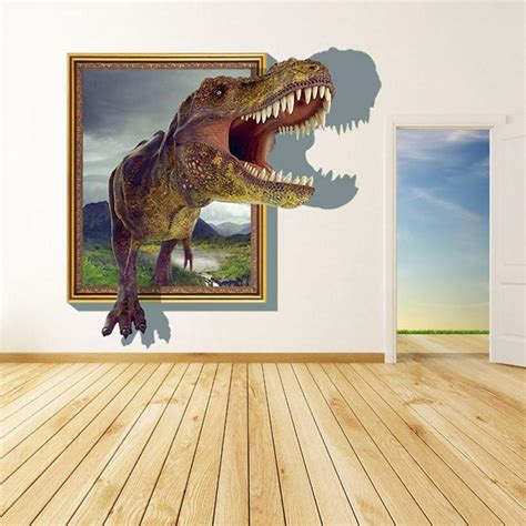 wall stickers  kids rooms boys dinosaur decals
