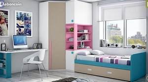 Chambre Gain De Place : lit gain de place ameublement paris chambre kaina ~ Farleysfitness.com Idées de Décoration