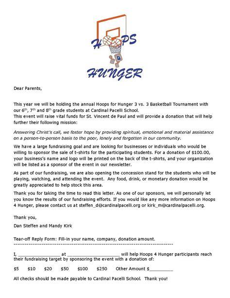 youth sponsorship letter cover letter samples cover