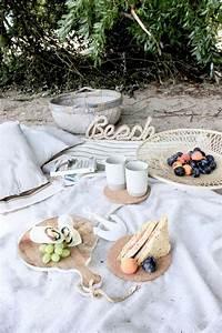 Romantisches Picknick Ideen : inspiration f r ein picknick am strand rezepte f r ~ Watch28wear.com Haus und Dekorationen