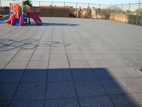 Verrazano Tile Staten Island by Unity Rooftops Rubber Pavers Rooftop Accessories