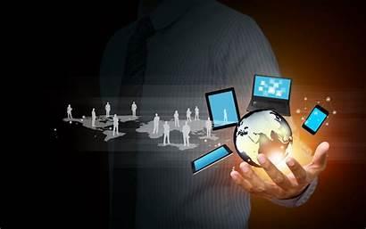 Business Technology Hand Network Wallpapers Desktop Iphone