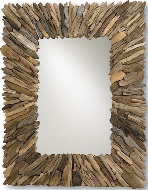 driftwood mirror diy driftwood mirror