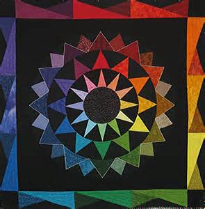 Color Wheel Quilt Pattern Free