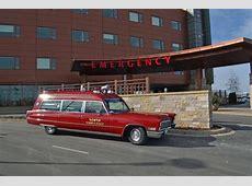 1968 Cadillac MillerMeteor Classic 48 Ambulance Photo Picture