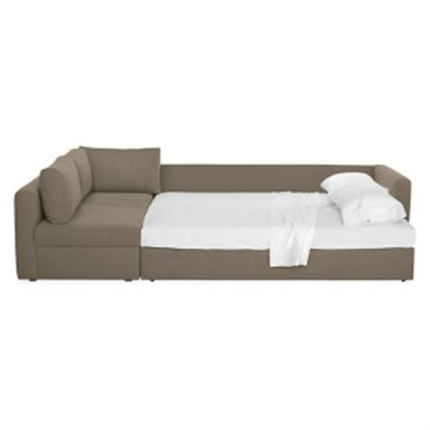 pop up sleeper sofa sofa chaise sleeper foter