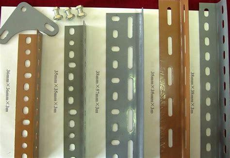 buy flexible industrial slotted angle shelving   racking