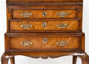 bureau okay quality walnut bureau on stand antiques atlas