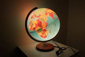 Open the light of world with globe lamps