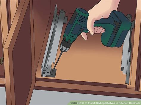 how to install sliding shelves in kitchen cabinets how to install sliding shelves in kitchen cabinets with 9777