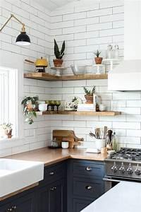 10, Amazing, Kitchen, Open, Shelving, Ideas