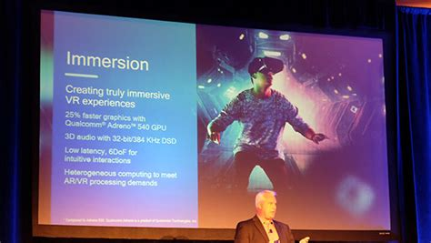 qualcomm s snapdragon 835 chip will enable faster and thinner phones that are ready for vr