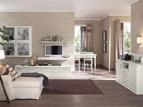 idee per pitturare il soggiorno soggiorno classico bianco vintage arredamento mobili