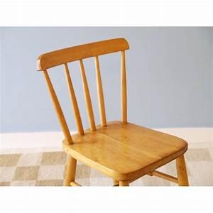 Chaise Bois Enfant : chaise vintage en bois enfant la maison retro ~ Teatrodelosmanantiales.com Idées de Décoration