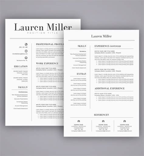 Create A Free Resume And Save by Resume Template Cv Template For Word Cover Letter Two